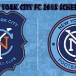 New York City FC 2015 schedule
