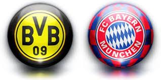 Dortmund vs Bayern Munich ist time telecast channels