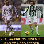 Real Madrid vs Juventus History Head to Head