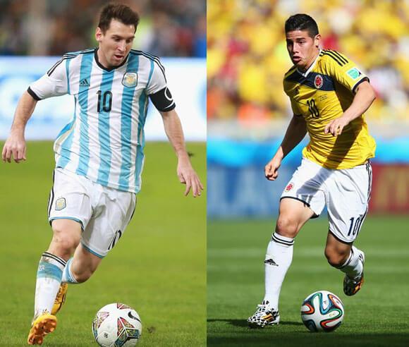 Argentina vs Colombia free live stream
