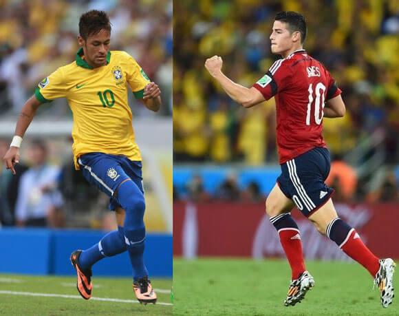 Watch Brazil Vs Colombia Live Stream