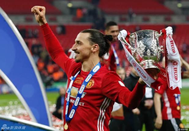 Manchester United striker Zlatan Ibrahimović photo
