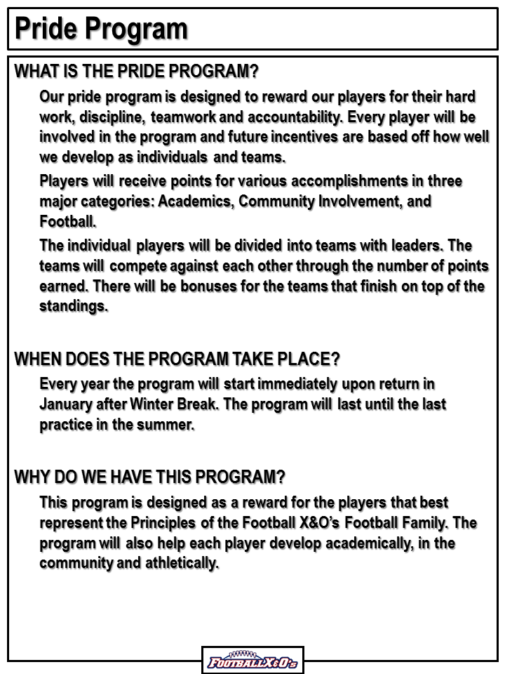 What is the Pride Program