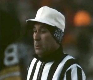 """Referee Norm Schachter tries to stay warm during the 1967 NFL Championship  Game. Known as the """"Ice Bowl be9d2b197"""