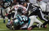 Back judge Terrence Miles [Carolina Panthers photo]