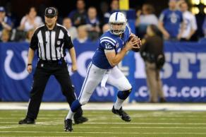Umpire Bruce Stritesky (Indianapolis Colts photo)