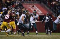 Umpire Undrey Wash follows the play (Philadelphia Eagles photo)