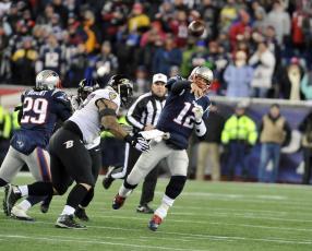 Bill Vinovich (New England Patriots photo)
