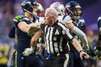Field judge Bob Waggoner (Seattle Seahawks photo)