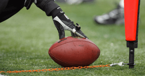 First-down spots limit the necessity for too many measurements