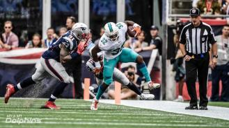 Jerry Bergman, Jr., returns to action after a preseason knee injury (Miami Dolphins)