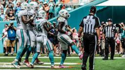 Lee Dyer and Jeff Lamberth (Miami Dolphins)