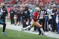 Derick Bowers demonstrates proper whistle technique (San Francisco 49ers)