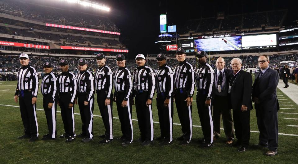 NFL ending full-time status for select officials