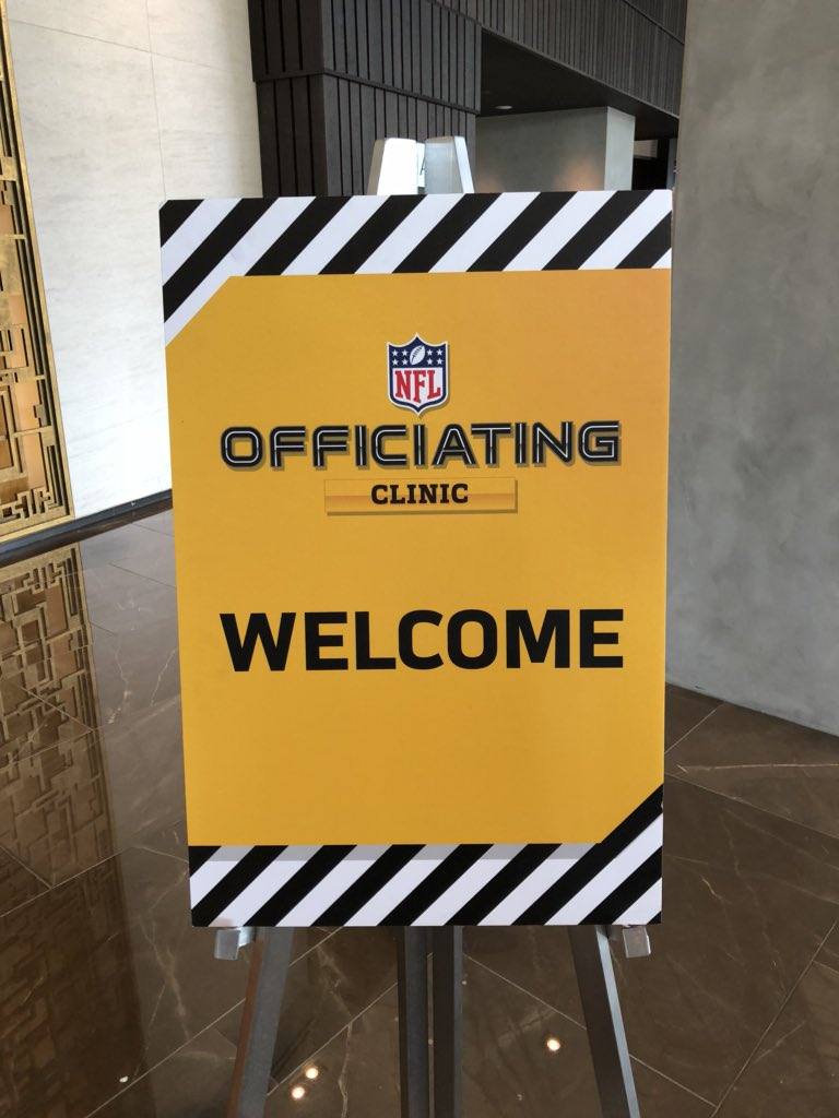Officials are back: 2018 clinic begins in Dallas