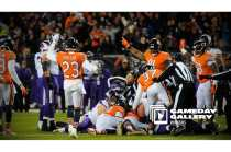 Mark Pellis announces who recovered the fumble (Chicago Bears)