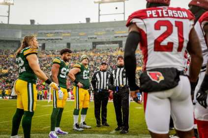 Keith Ferguson and Pete Morelli (Green Bay Packers)