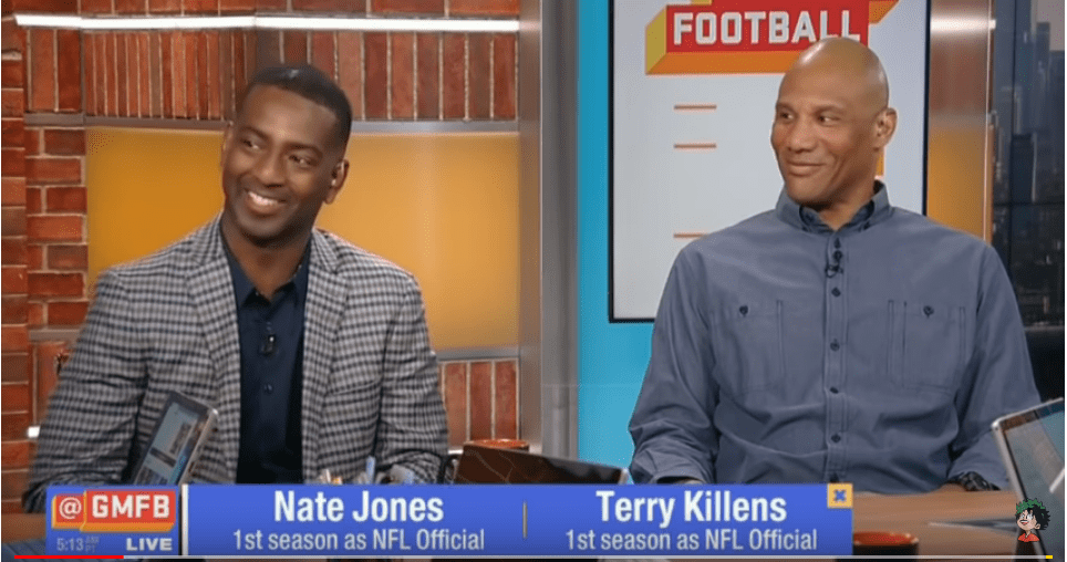 Former NFL players Jones and Killens talk about being rookie zebras