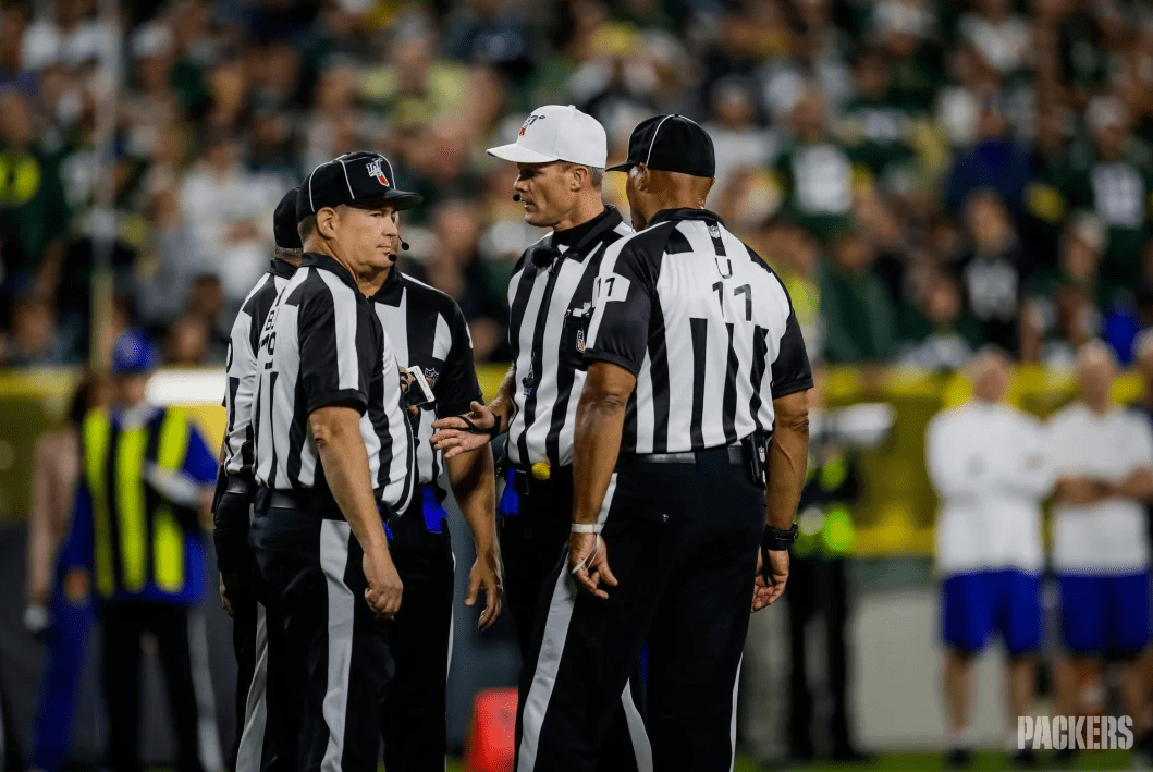 Week 6 referee assignments