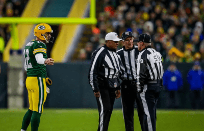 Jerome Boger, Carl Paganelli, Rusty Baynes (Green Bay Packers)