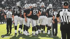 Bryan Neale, Dave Hawkshaw, Mark Hittner (Oakland Raiders)