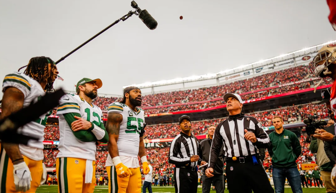 NBC garbles Carl Cheffers penalty announcements to prevent profanity from airing
