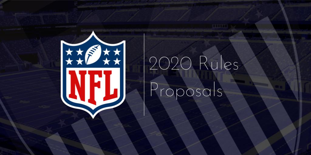 7 rules changes proposed by NFL teams for 2020