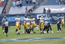 Carl Paganelli and Shawn Hochuli (Pittsburgh Steelers)