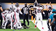 Boris Cheek and Danny Short (Atlanta Falcons)