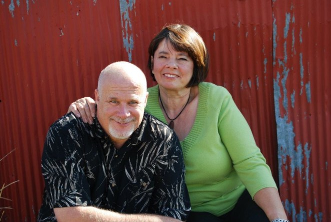 Our pastor, mentor, friend, Terry Jarvis and his dear wife, Monika