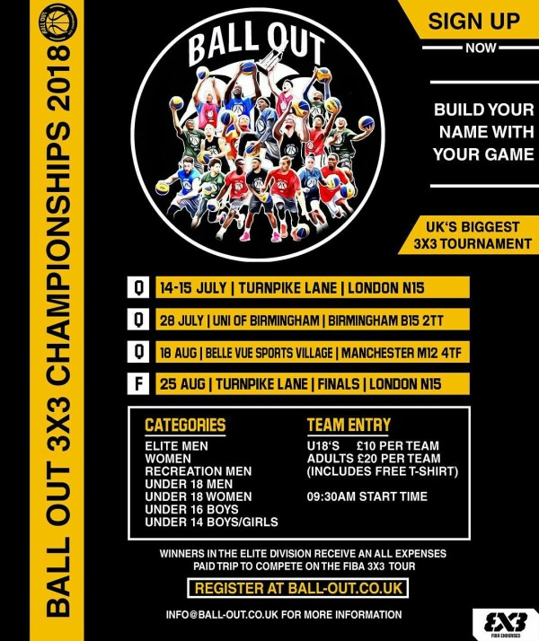 Ball Out 3x3 Registration