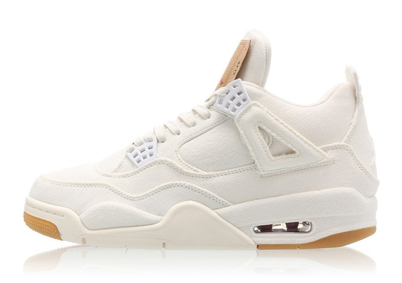 Levis x Air Jordan 4 Retro NRG White Denim