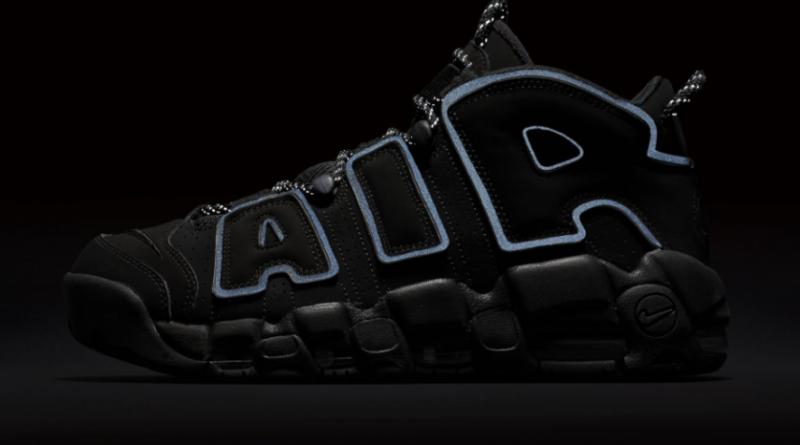 Nike Air More Uptempo 96 Triple Black