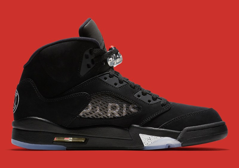 Air Jordan 5 Reto PSG inside profile