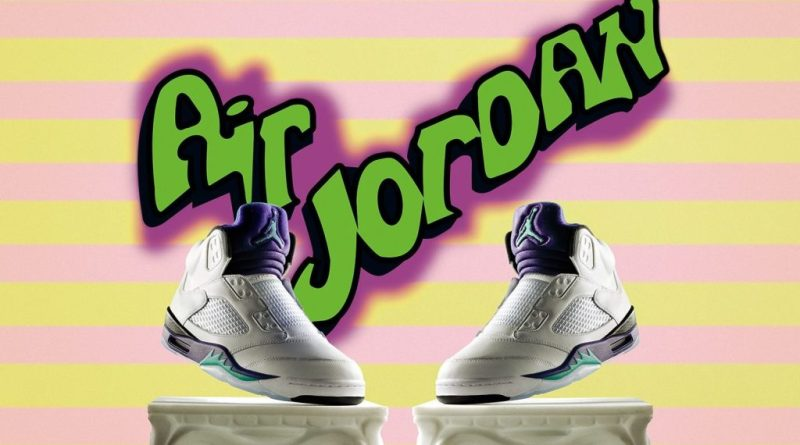 "BUY NOW – Air Jordan 5 Retro Fresh Prince ""Grape"""