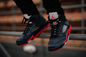 Air Jordan 5 Retro Satin Bred