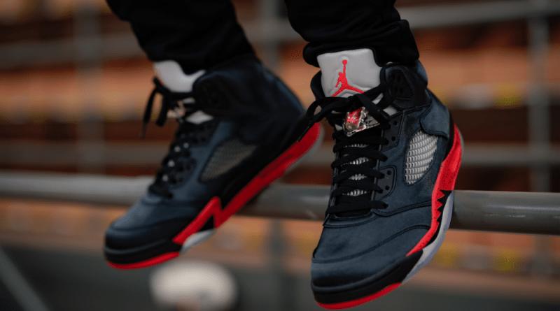 Air Jordan 5 Retro 'Satin Bred'