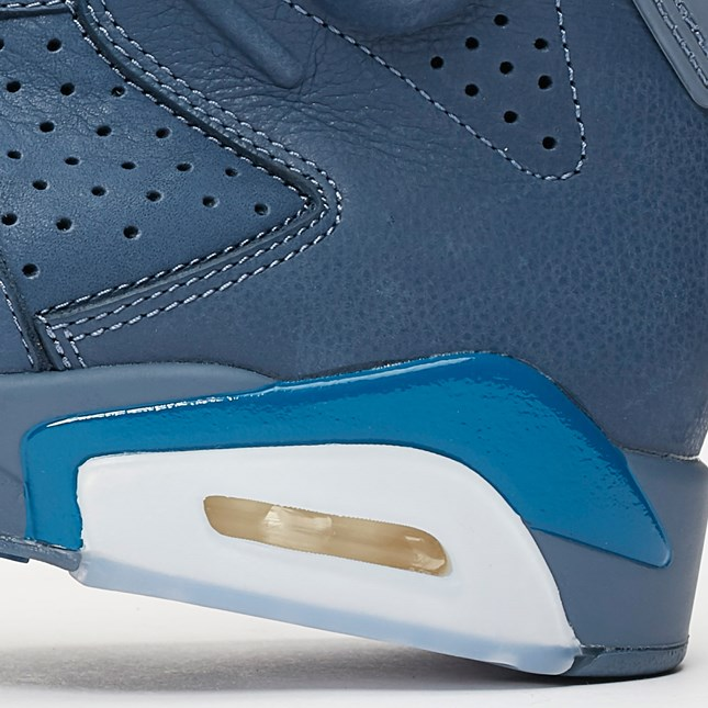 Air Jordan 6 Diffused Blue close up 2