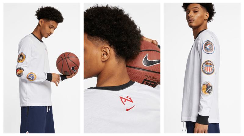 Nike PG3 Nasa Long Sleeve T-shirt