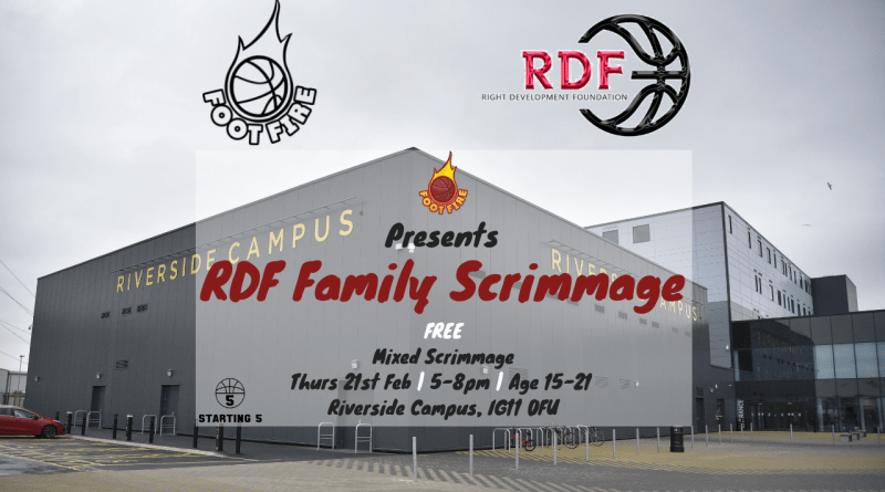 RDF Halfterm Basketball Scrimmage
