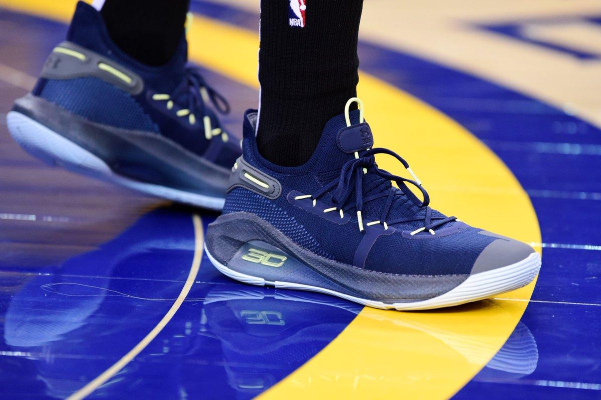 Curry 6 on feet