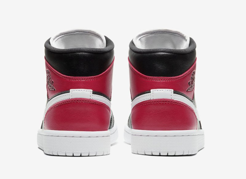 Air Jordan 1 Mid Noble Red BQ6472-016 Release Info UK Europe 5