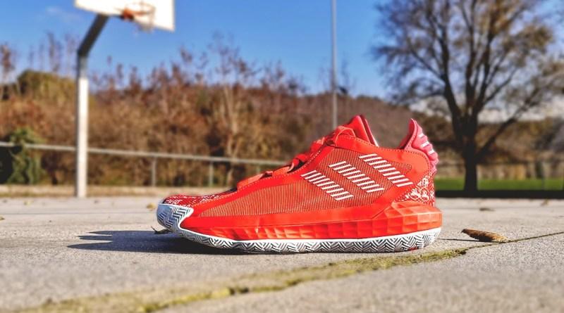 Adidas Dame 6 Hecklers Solar Red FU6808 Sale