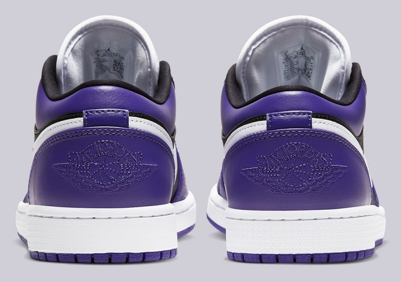 Air Jordan 1 Low Court Purple 553558-501 Release Info UK 5