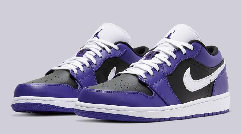 Air Jordan 1 Low Court Purple 553558-501 Release Info UK