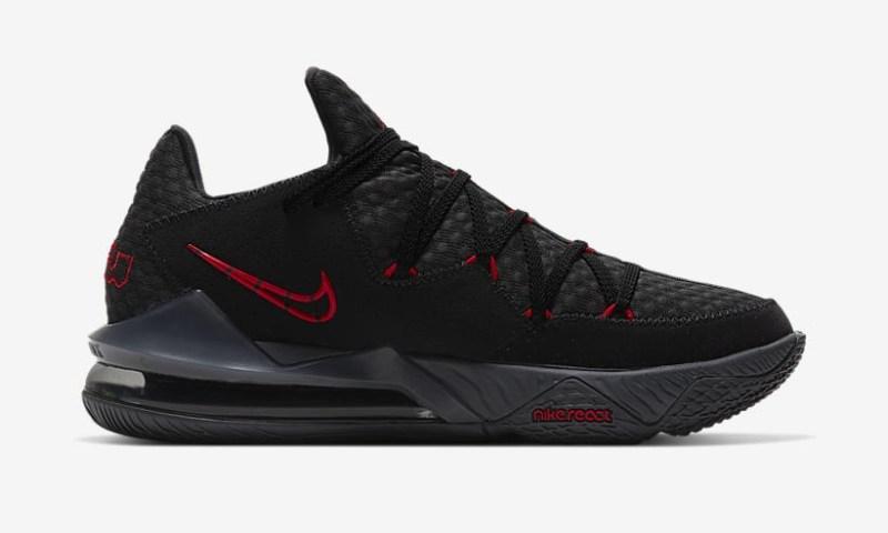 Nike Lebron 17 Low Bred CD5007-001 - Release Info UK 2