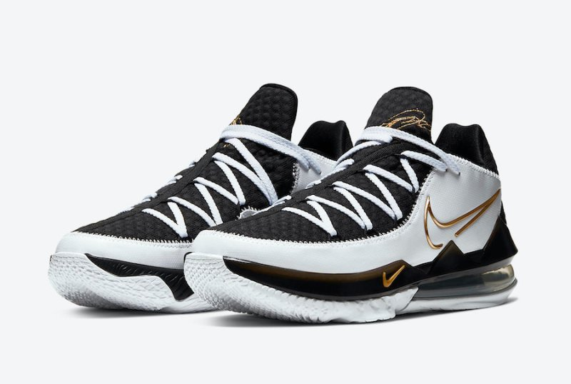 Nike Lebron 17 Low Metallic Gold CD5007-101 Now Available 6
