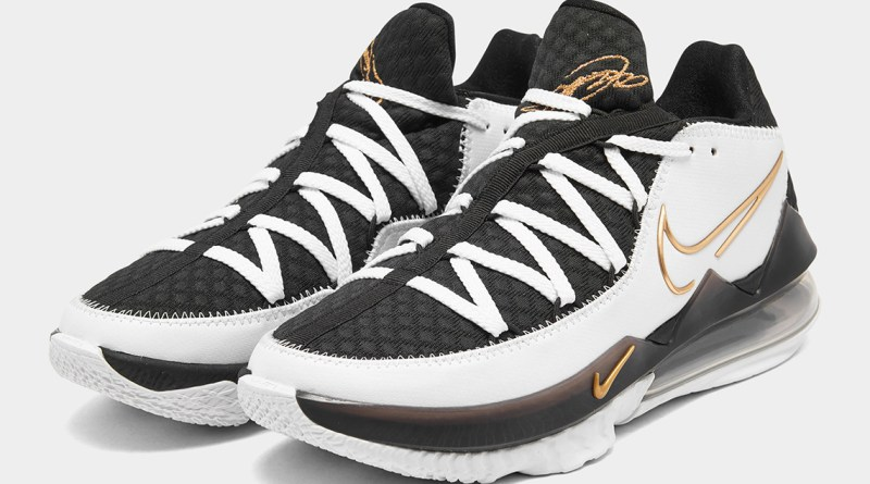 Nike Lebron 17 Low Metallic Gold CD5007-101 Now Available Feature