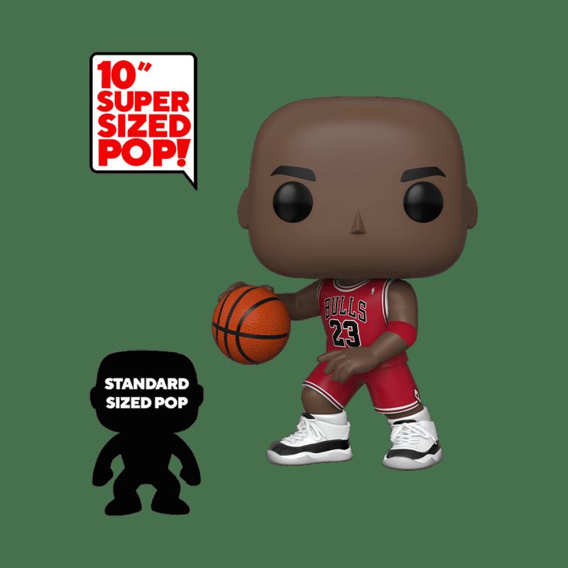 10 Super Size Funko 45598 Pop NBA Michael Jordan Collectable Figure 2