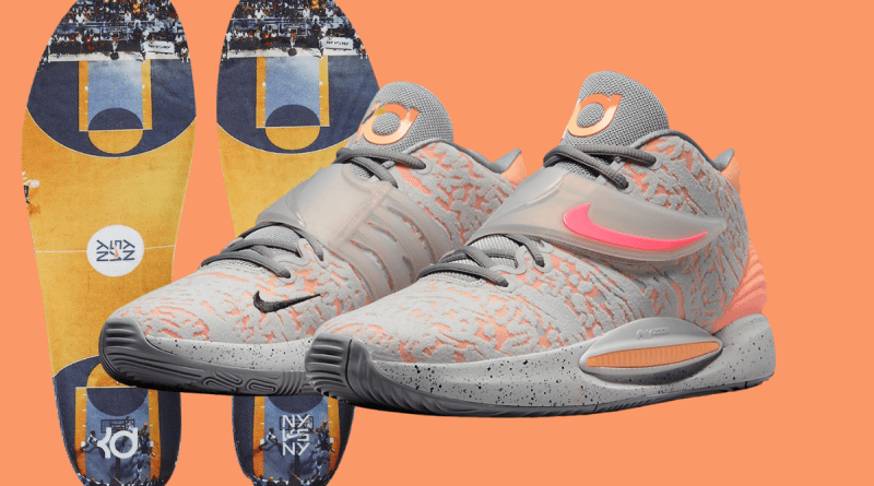 nike-kd-14-sunset-cw3935-003-grey-fog-particle-grey-peach-cream-sunset-pulse-store-list Feature Image